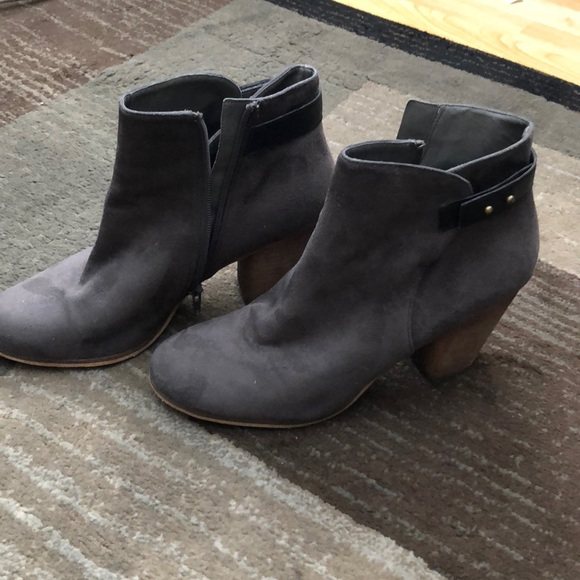 8844fd61a63 Gray Ankle Boots from Nordstrom! M 5a5cf654b7f72b50ca529b7f